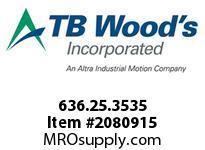 TBWOODS 636.25.3535 STEP-BEAM 25 12MM--12MM
