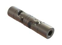 Belden DUJ-SS1000x500 Double U-Joint 4 7/8in Long 1 Wide 1/2inID Key none Setscrew no Marerial ss