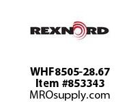 REXNORD WHF8505-28.67 WHF8505-28.67 WHF8505 28.67 INCH WIDE RUBBERTOP M
