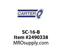 Carter SC-16-B 1/2 OD NEEDLE CF NON-SEALED HEX