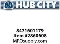 HUB CITY 8471601179 SHIM STEEL .480X.630X.015 Service Part