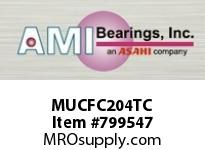 AMI MUCFC204TC 20MM STAINLESS SET SCREW TEFLON PIL SINGLE ROW BALL BEARING