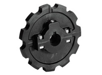 614-34-51 NS880-12T Thermoplastic Split Sprocket TEETH: 12 BORE: 1 Inch Plain Bore