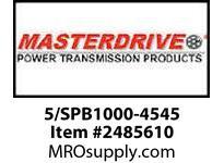MasterDrive 5/SPB1000-4545 5 GROOVE SPB SHEAVE