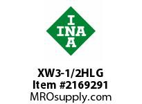 INA XW3-1/2HLG Thrust ball bearing