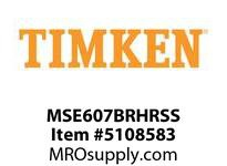 TIMKEN MSE607BRHRSS Split CRB Housed Unit Assembly