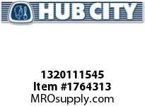 HubCity 1320111545 B350RWX1-11/16 Bearing Insert