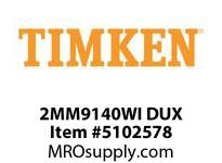 TIMKEN 2MM9140WI DUX Ball P4S Super Precision