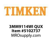 TIMKEN 3MM9114WI QUX Ball P4S Super Precision