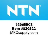 NTN 6306EEC3 Extra Small/Small Ball Bearing