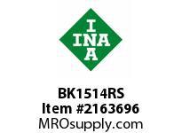 INA BK1514RS Drawn cup needle bearing