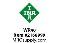 INA WR40 Snap ring shaft