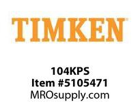 TIMKEN 104KPS Split CRB Housed Unit Component