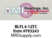 AMI BLFL4-12TC 3/4 NARROW SET SCREW TEFLON 2-BOLT ROW BALL BEARING