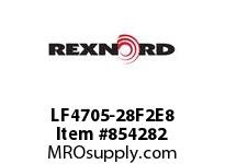 REXNORD LF4705-28F2E8 LF4705-28 F2 T8P N2 LF4705 28 INCH WIDE MATTOP CHAIN WI