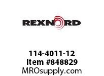 REXNORD 114-4011-12 KU9608-14T 2-1/2 KWSS UH KU9608-14T SOLID SPROCKET WITH 2-1/