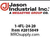 Jason 1-4FL-24-20 CODE 61 FLANGE 4 SPIRAL