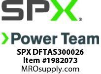 SPX DFTAS300026 LDF30 RH S/PLATE ASSY (HEAD 7)