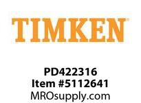 TIMKEN PD422316 Power Lubricator or Accessory