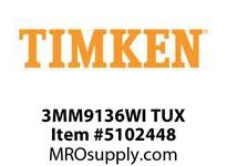 TIMKEN 3MM9136WI TUX Ball P4S Super Precision