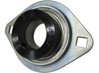 PTI OBF207-35SMM 2-BOLT PRESSED STEEL FLANGE UNIT-35 OBF 200 SILVER SERIES - NORMAL DUTY