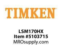 TIMKEN LSM170HX Split CRB Housed Unit Component