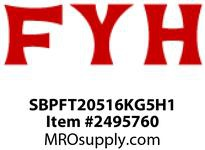 FYH SBPFT20516KG5H1 1in ND PRESSED SS 3B FL TRIANGULAR