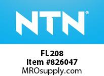 NTN FL208 Bearing Units - Cast Housing