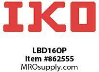 IKO LBD16OP LBD - SERIES