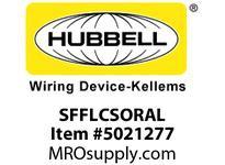 HBL_WDK SFFLCSORAL FIBER SNAP-FITFLSHLC DUPLXORZIRCAL