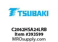 US Tsubaki C2062HSA24LRB C2062H RIV 4L/SA-2