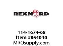 REXNORD 114-1674-68 CT LPC279K450 R18 U-CAR CORNER TRACK FOR LPC279K4.5 TABLETO