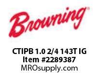 Browning CTIPB 1.0 2/4 143T IG MOTOR MODULES
