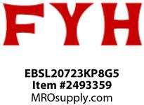 FYH EBSL20723KP8G5 1 7/16 ND SS LH PB (NARROW-WITH) RE-LUBE