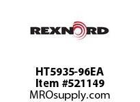 REXNORD HT5935-96EA HT5935-96 E8-9/64D STAG 126442