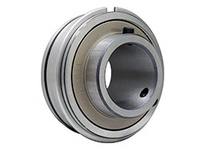 FYH ER206 30MMD1K3 INSERT BEARING-SETSCREW LOCKING HIGH TEMP NON-CONTACT SEALS