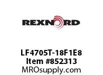 REXNORD LF4705T-18F1E8 LF4705T-18 TAB F1 T8P