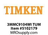 TIMKEN 3MMC9104WI TUM Ball P4S Super Precision