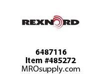 REXNORD 6487116 611-21701-01 5 X11 CEMA C LINKBELT REP