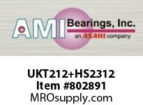 AMI UKT212+HS2312 2-1/8 NORMAL WIDE ADAPTER TAKE-UP BALL BEARING