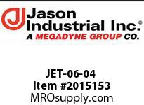Jason JET-06-04 METRIC PIPE END