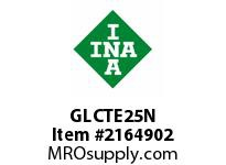 INA GLCTE25N Two-bolt oval flanged unit
