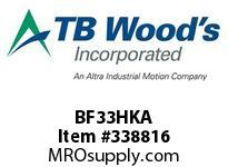 TBWOODS BF33HKA HARDWARE KIT 6 BOLT CL A B