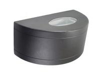 Orbit HWP11U-HPS150-BK ROUND WALL PACK HPS150 UP/DOWN - BLACK