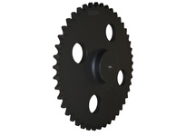 180C40 C Hub Roller Chain Sprocket