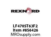 REXNORD LF4705T63F2 LF4705T-63 F1.25 T2P LF4705TAB 63 INCH WIDE MATTOP CHAIN