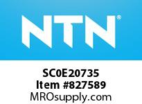 NTN SC0E20735 Bearing Units - Cast Covers