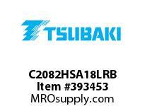 US Tsubaki C2082HSA18LRB C2082H RIV 8L/SA-1