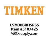 TIMKEN LSM30BRHSRSS Split CRB Housed Unit Assembly