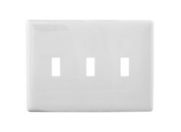 HBL_WDK NPS3W WALLPLATE 3G TOG SNAP-ON WHITE